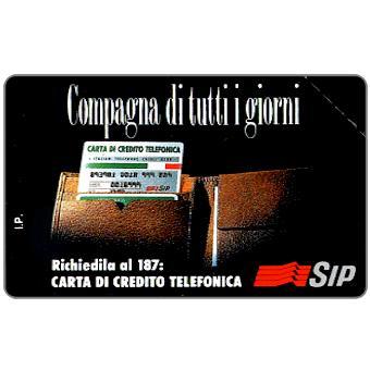 Phonecards - History of Italian cards 6:  Compagna di tutti i giorni