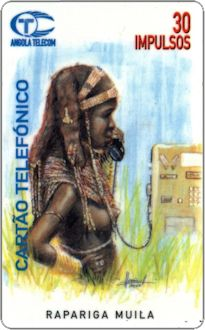 Phonecards - Angola 1996