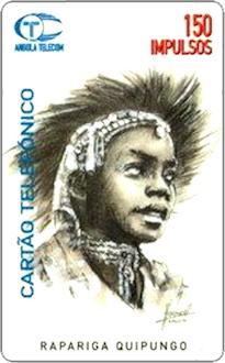 Schede Telefoniche - Angola 1996