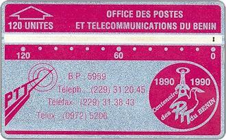 Schede Telefoniche - Benin 1990