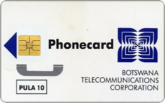 Phonecards - Botswana 1994