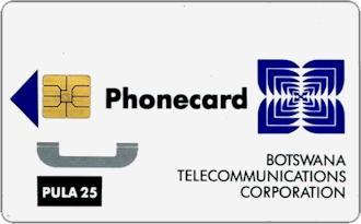 Schede Telefoniche - Botswana 1994