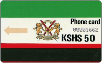 Phonecards - Kenya 1988