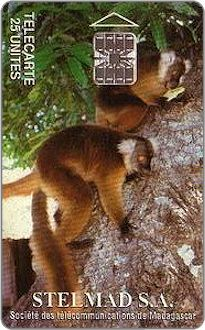 Phonecards - Madagascar 1994