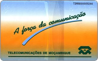 Phonecards - Mozambico 1997
