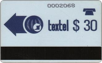 Phonecards - Trinidad  Tobago 1987