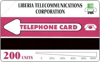 Phonecards - Liberia 1995