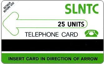 Phonecards - Sierra Leone 1990