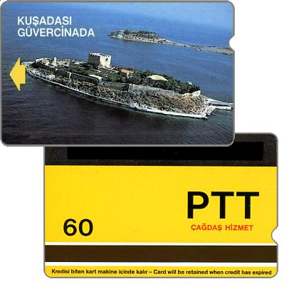 Phonecards - Several systems tested in Turkey