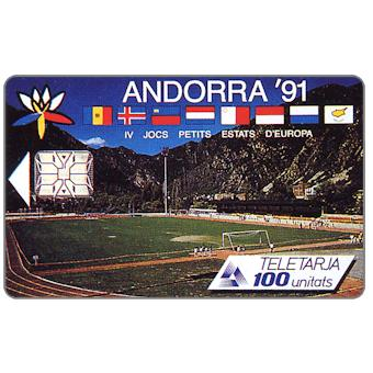 Phonecards - Andorra 1991