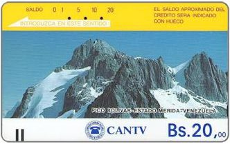 Phonecards - Venezuela 1984
