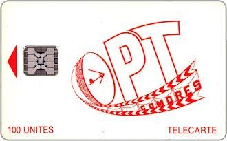 Phonecards - Comore 1992