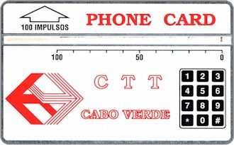 Phonecards - Capo Verde 1990