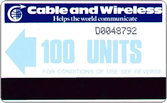 Phonecards - Diego Garcia 1985