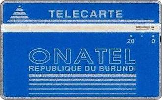 Schede Telefoniche - Burundi 1988