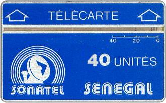 Phonecards - Senegal 1985