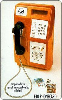Phonecards - Swaziland 1998