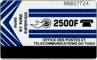 Phonecards - Togo 1990