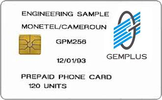 Gemplus test cards: Africa