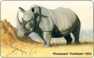 Phonecards - South Africa 1993