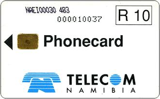 Phonecards - Namibia 1993