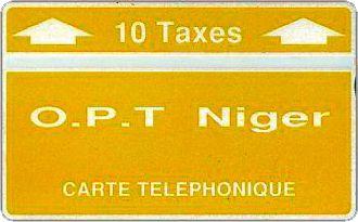 Phonecards - Niger 1988