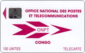 Phonecards - Congo 1992