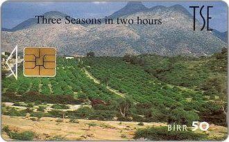 Phonecards - Eritrea 1997