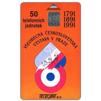 Phonecards - Cecoslovacchia 1991