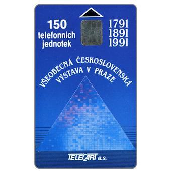 Phonecards - Czechoslovakia 1991