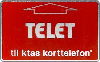 Phonecards - Danimarca 1982
