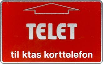 Schede Telefoniche - Danimarca 1982