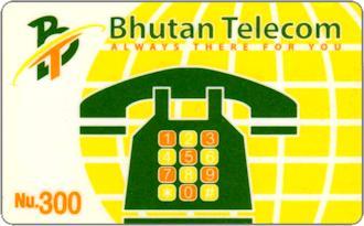 Schede Telefoniche - Bhutan 2003