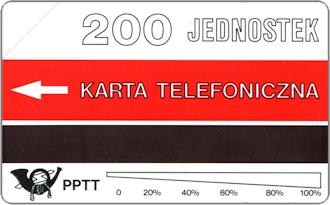 Phonecards - Polonia 1991