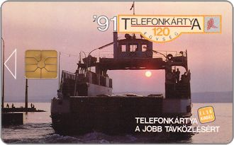 Phonecards - Hungary 1991
