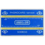 Landis & Gyr, optical cards