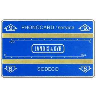 Landis & Gyr, optical cards