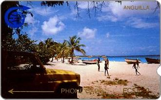 Phonecards - Anguilla 1989