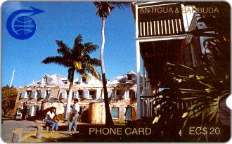 Phonecards - Antigua  Barbuda 1989