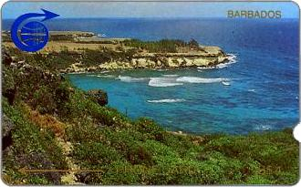 Phonecards - Barbados 1989