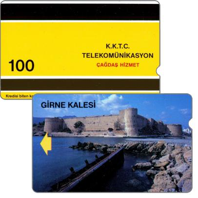 Phonecards - Northern Cyprus 1992