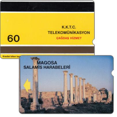 Schede Telefoniche - Cipro del Nord 1992