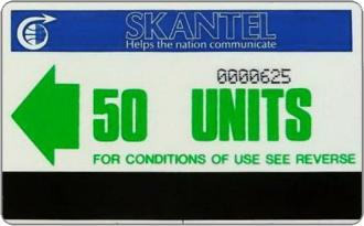 Schede Telefoniche - Saint Kitts e Nevis 1986