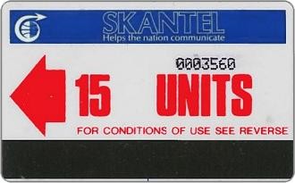 Phonecards - Saint Kitts e Nevis 1986