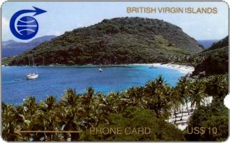 Phonecards - British Virgin Islands 1989