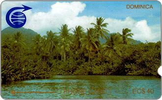 Phonecards - Dominica 1989
