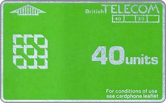 Phonecards - Great Britain 1981