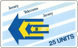 Phonecards - Jersey 1988