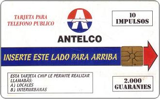 Phonecards - Paraguay 1997