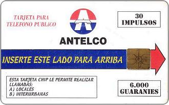 Schede Telefoniche - Paraguay 1997